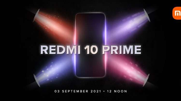 Redmi 10 Prime will launch on September 3 sepcifications and pricing