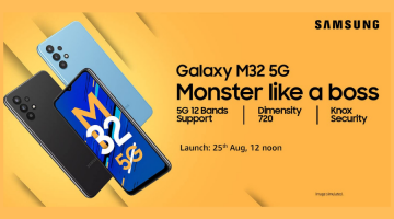 Samsung M32 5G Amazon page goes live to launch on August 25