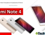 Xiaomi Redmi Note 4 Full Specification in hindi