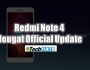 Redmi Note 4 Nougat Official Update