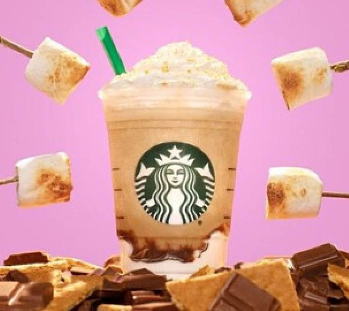 Smores Frappaccino - Coffee Trends
