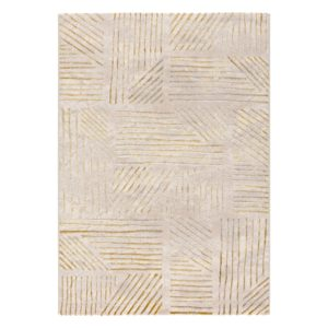 abstract beige rug