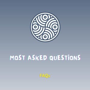 Most common questions we're asked