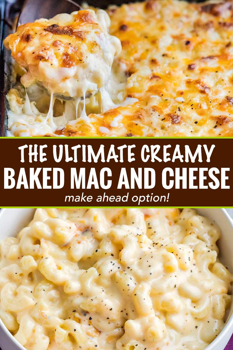 Creamy Baked Mac And Cheese Contest Winning The Chunky Chef