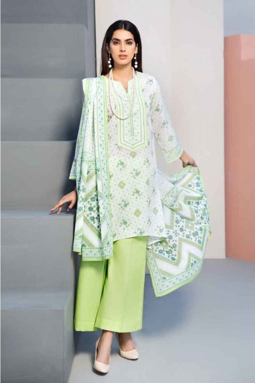GulAhmed Mal Mal Collection 3 PC Lawn Suit CL-548 B – FSTN HOT GulAhmed Limited Edition Malmal Collection - Original best pakistani suits collection