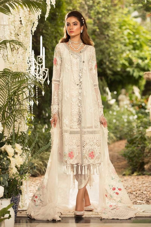 MARIAB EMBROIDERED BD 1604 RESTOCKED Best Sellers Restocked best pakistani suits collection