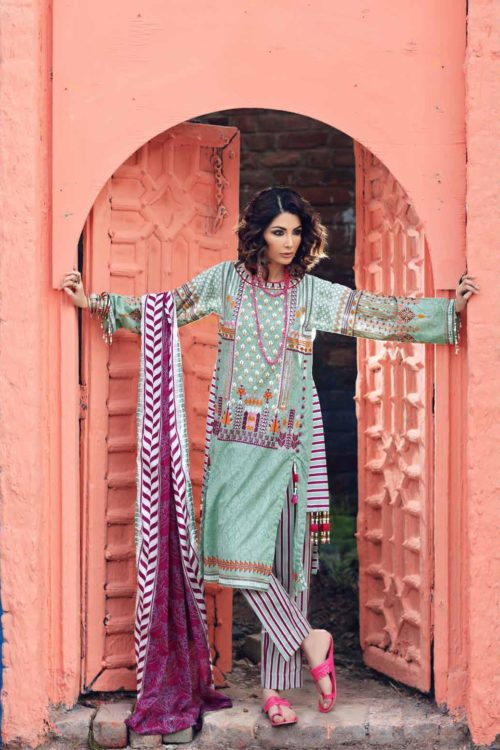 Gypsy by Gul Ahmed 2019 GL17 Gul Ahmed best pakistani suits collection