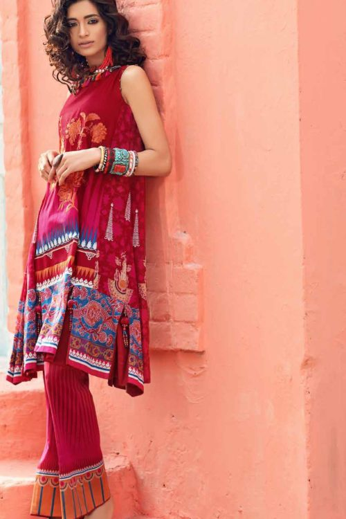 Gypsy by Gul Ahmed 2019 GT15B Gul Ahmed best pakistani suits collection