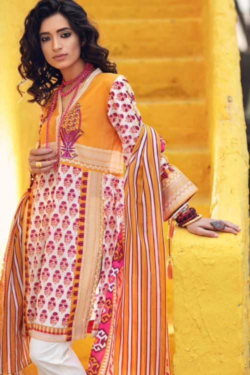 Gypsy by Gul Ahmed 2019 GT13A Gul Ahmed best pakistani suits collection