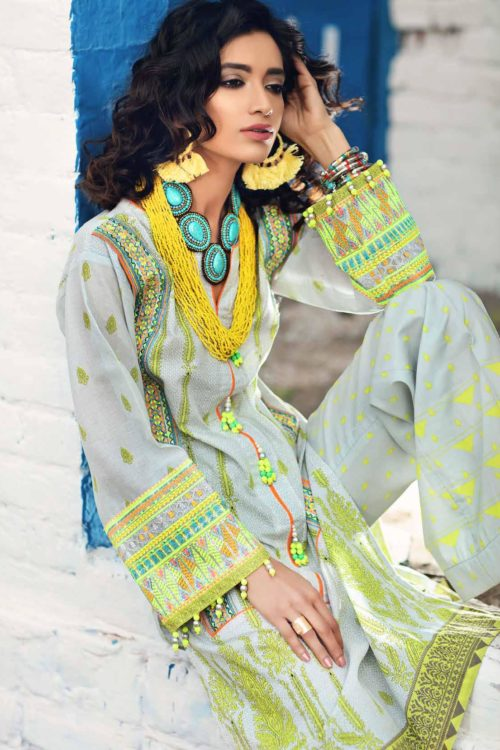 Gypsy by Gul Ahmed 2019 GT17 Gul Ahmed best pakistani suits collection