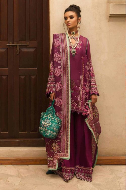 Elan Festive Unstitched 2019 EF-04 (NARINA) RESTOCKED Best Sellers Restocked best pakistani suits collection