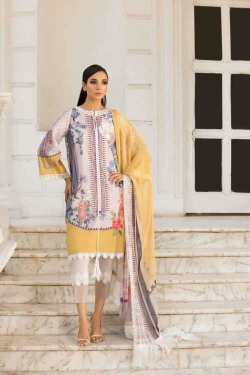 Sobia Nazir Vital Design 1A Restocked Sobia Nazir Vital - Original best pakistani suits collection