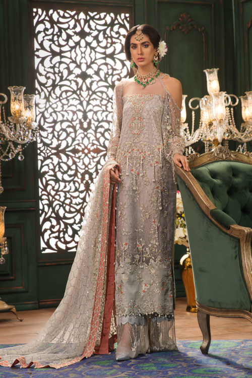 Noor Wedding by Saadia Asad 07-ZOHA ~Sold out~ best pakistani suits collection