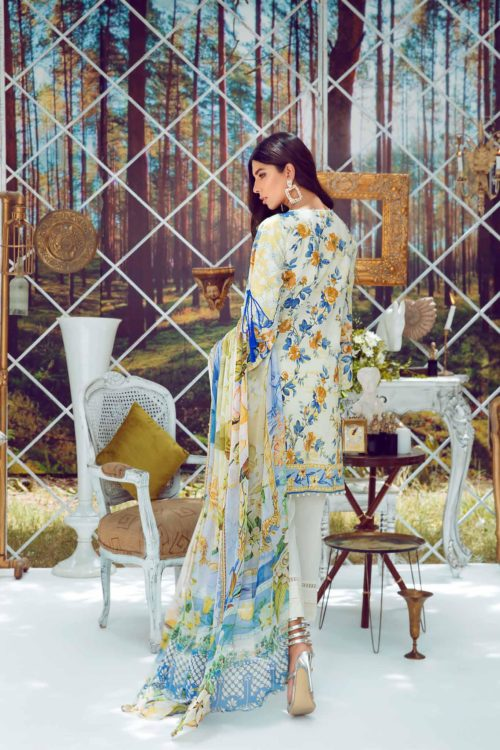 Firdous Virasat Summer Lawn 19103 A Firdous Virasat Summer Lawn - Original best pakistani suits collection
