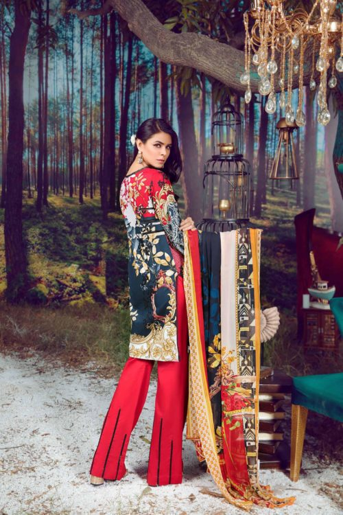 Firdous Virasat Summer Lawn 19205 B Restocked Firdous Virasat Summer Lawn - Original best pakistani suits collection