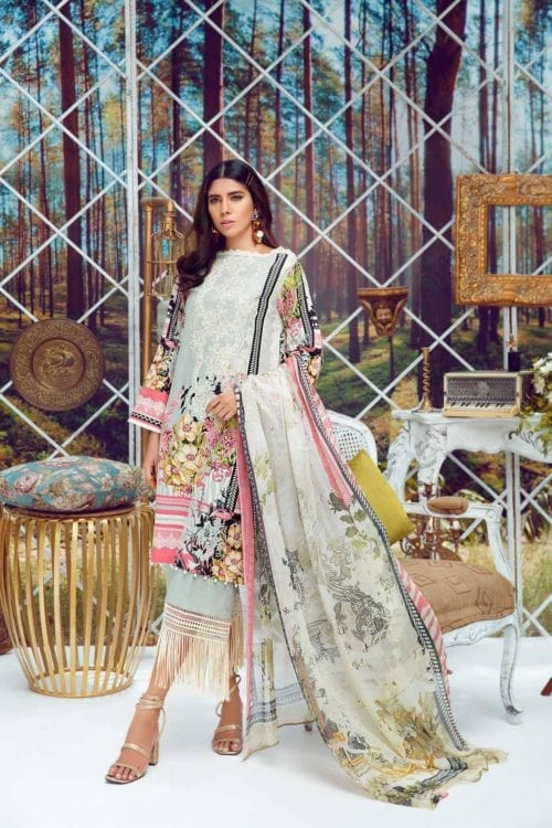 Firdous Virasat Summer Lawn 19241 A Restocked Firdous Virasat Summer Lawn - Original best pakistani suits collection