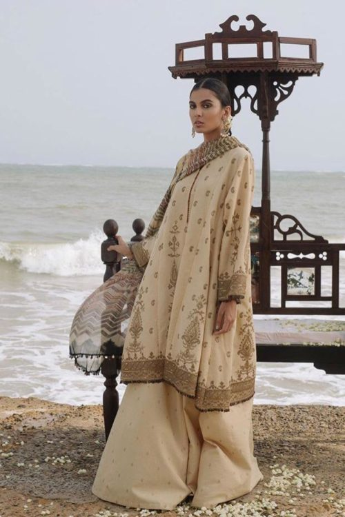 Zara Shahjahan Luxury Lawn 2019 SHAMS-D7  –  RESTOCKED Zara Shahjahan Luxury Lawn 2019 - Original best pakistani suits collection