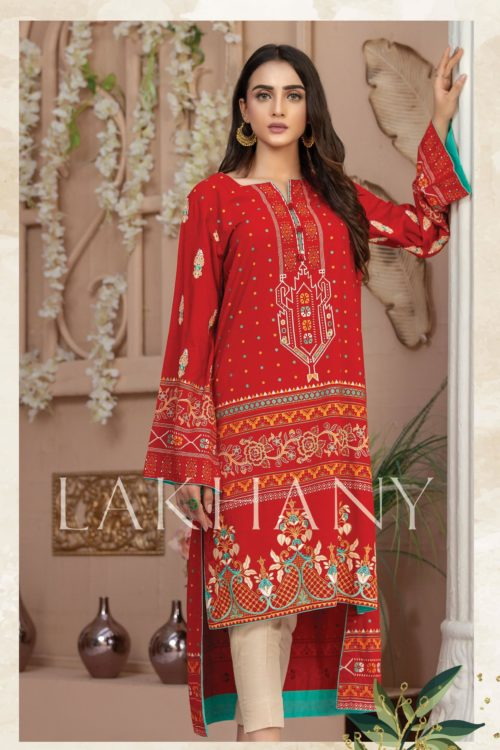 Lakhany Sahar Embroidered Kurti SK-7007-A HOT *Hot on Sale* Best Sellers
