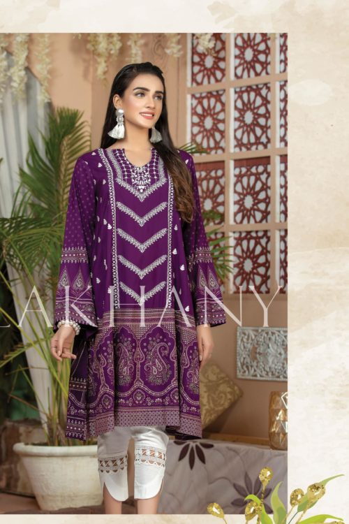 Lakhany Sahar Embroidered Kurti SK-7010-A HOT *Hot on Sale* Best Sellers