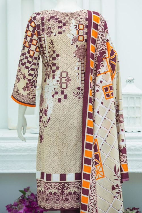 Bin Saeed Lawn Embroidered – BS-1908A Bin Saeed Lawn Embroidered - Box Packing - Original best pakistani suits collection