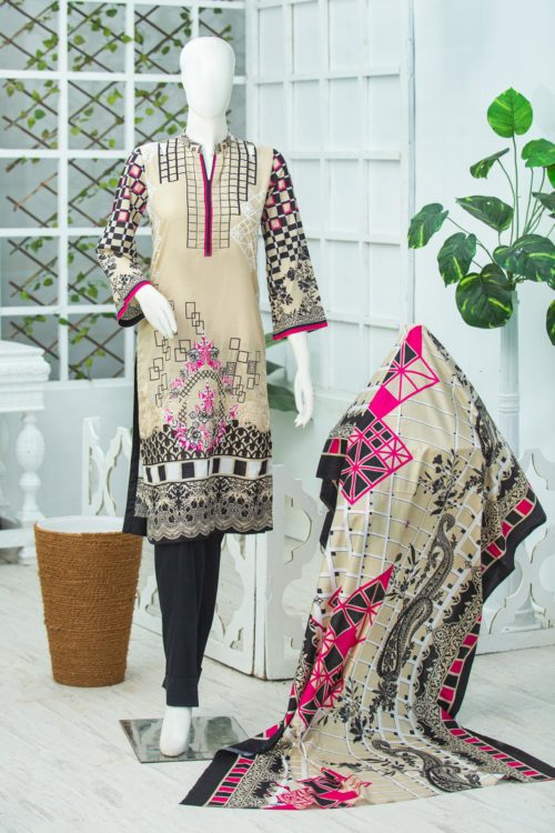 Bin Saeed Lawn Embroidered – -1908B RESTOCKED Best Sellers Restocked best pakistani suits collection