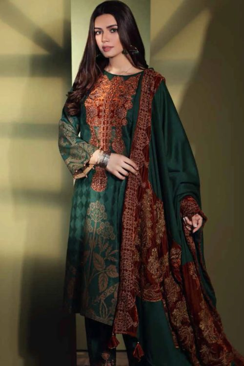 Embroidered Jacquard Salwar Kameez by Charizma CJ-02 RELISTED / RESTOCKED *Hot on Sale* Best Sellers
