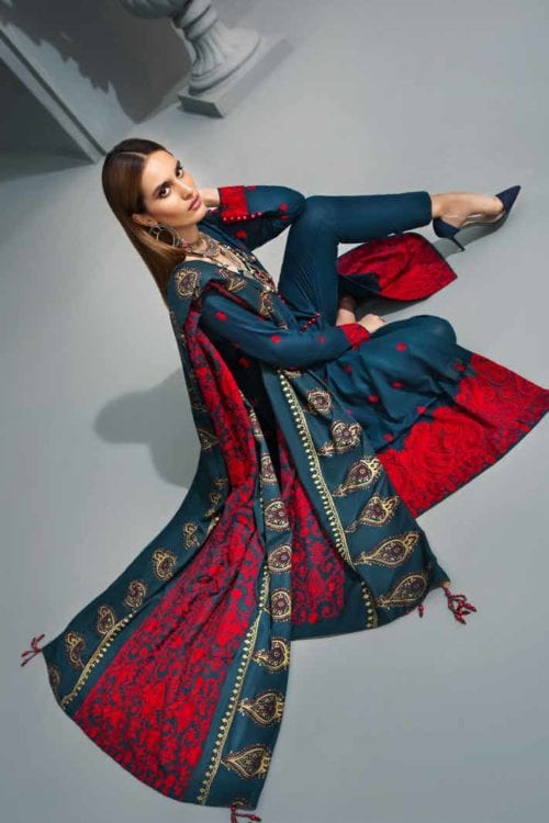 Gul Ahmed Poshak e Chinar Shawl Collection AYE07 – RELISTED / RESTOCKED *Hot on Sale* Best Sellers