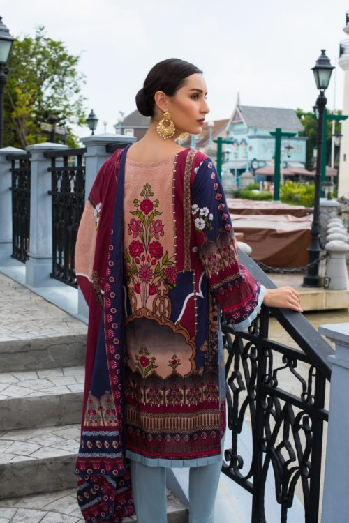 Sahil Mid Summer Emb Vol 2 – SMS2-1A Ready to Ship Ready to Ship - Original Pakistani Suits