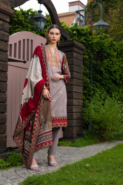 Sahil Mid Summer Emb Vol 2 – SMS2-1B Ready to Ship Ready to Ship - Original Pakistani Suits