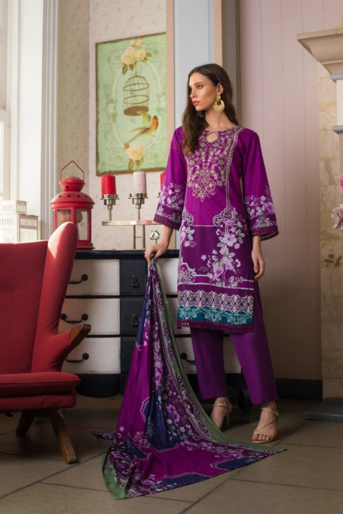 Sahil Mid Summer Emb Vol 2 – SMS2- 3A Ready to Ship Ready to Ship - Original Pakistani Suits