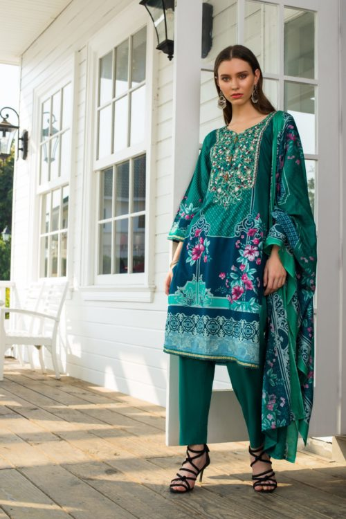 Sahil Mid Summer Emb Vol 2 – SMS2- 3B Ready to Ship Ready to Ship - Original Pakistani Suits