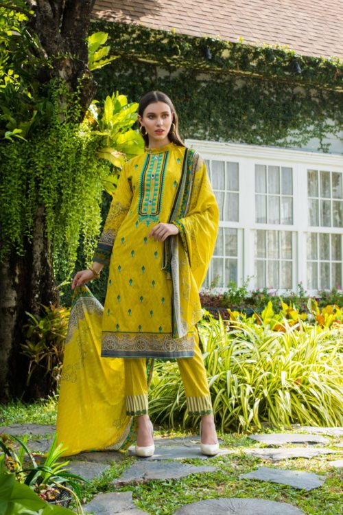 Sahil Mid Summer Emb Vol 2 – SMS2- 4A Ready to Ship Ready to Ship - Original Pakistani Suits