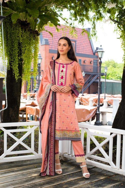Sahil Mid Summer Emb Vol 2 – SMS2- 4B Ready to Ship Ready to Ship - Original Pakistani Suits