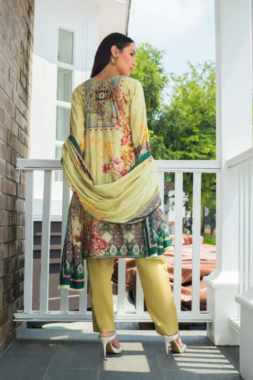Sahil Mid Summer Emb Vol 2 – SMS2- 5A Ready to Ship Ready to Ship - Original Pakistani Suits