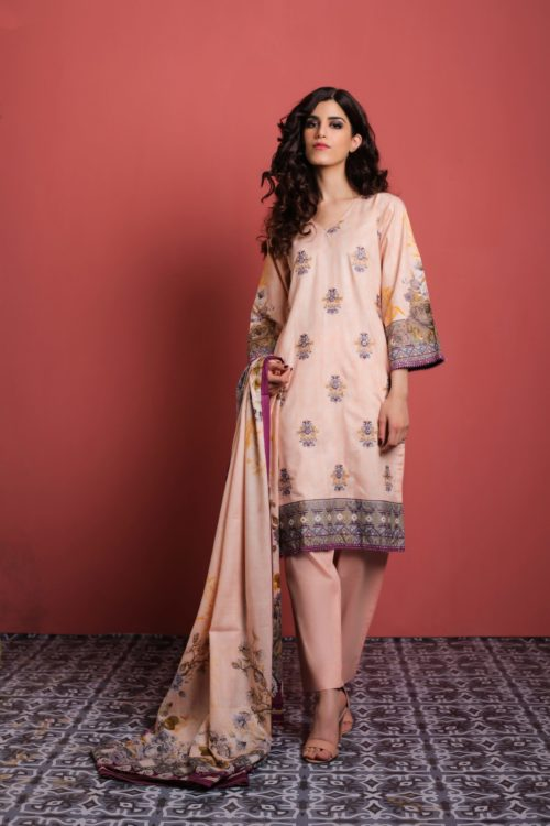 Sahil Mid Summer Emb Vol 2 – SMS2- 5B Ready to Ship Ready to Ship - Original Pakistani Suits