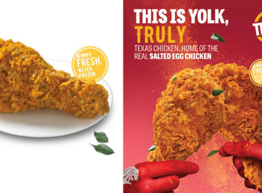 Texas Chicken REAL Salted Egg Fried Chicken is back for National Day