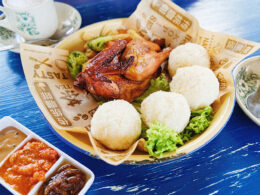 Chicken Rice Balls at O'My Kampong in Sengkang