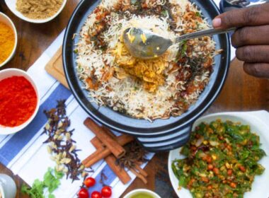 Firetop Claypot Dhum Biryani table