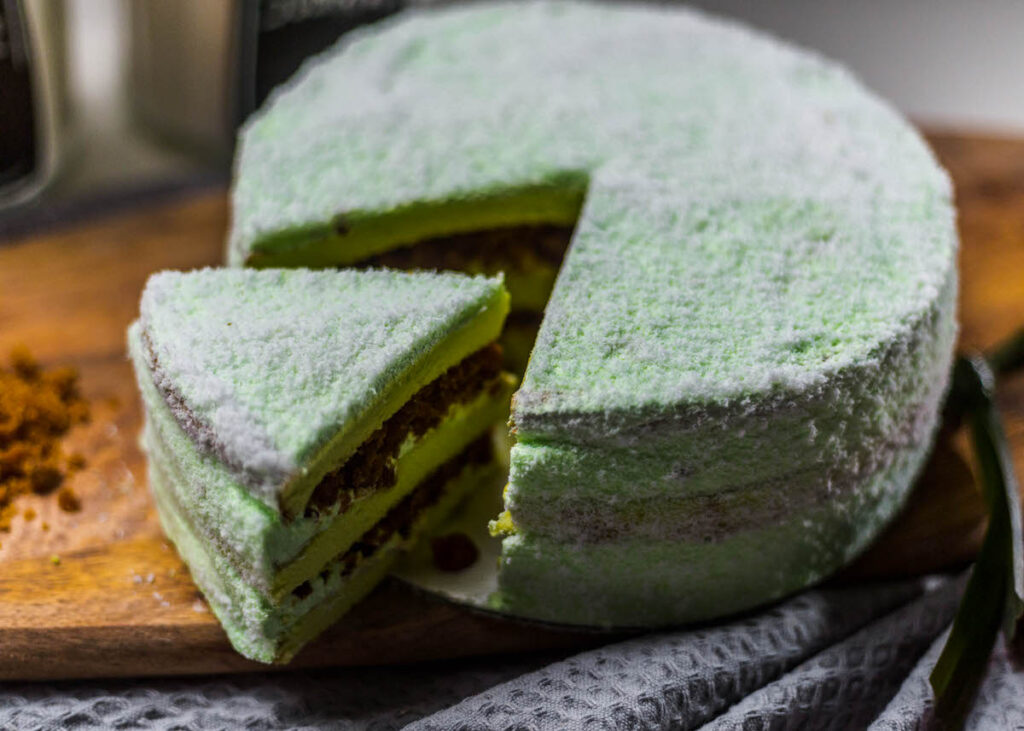Ondeh ondeh cake, a Measuring Happiness bestseller