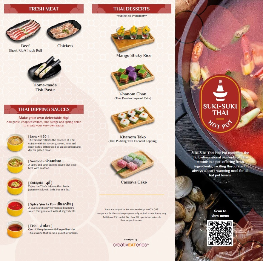 suki suki thai hot pot menu 2