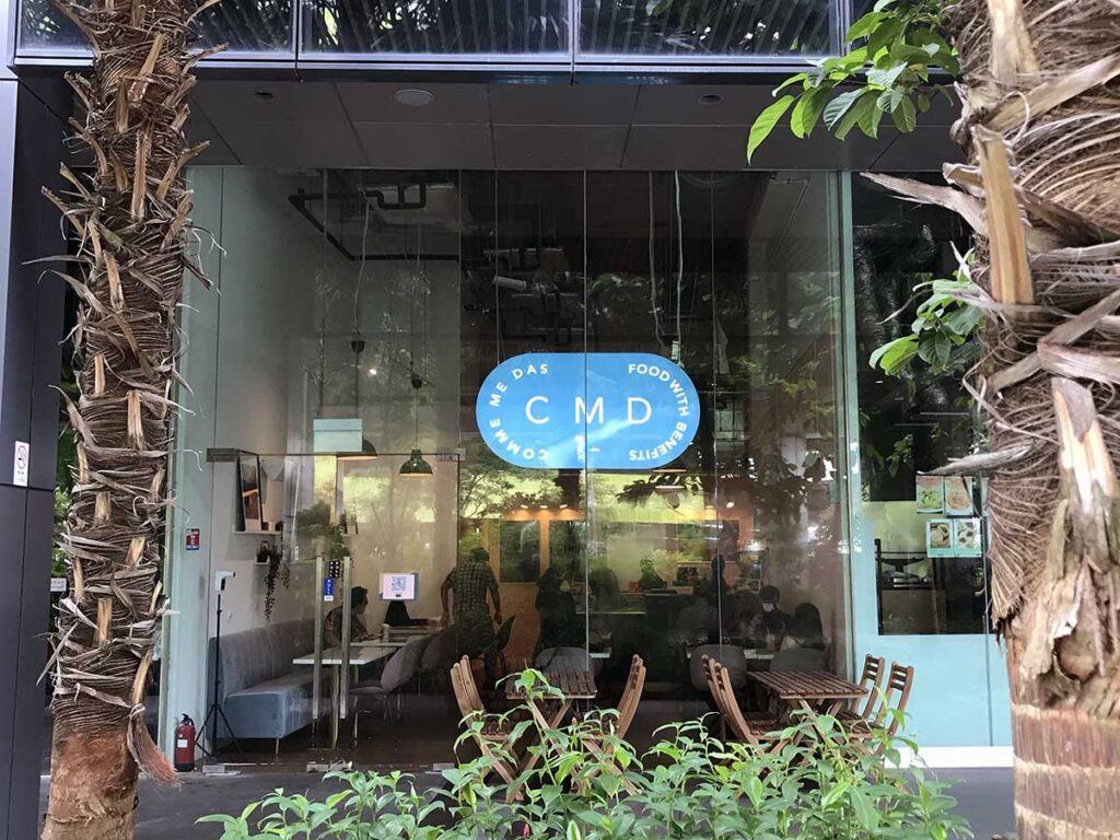 Comme Mes Das is located at 2 Venture Drive