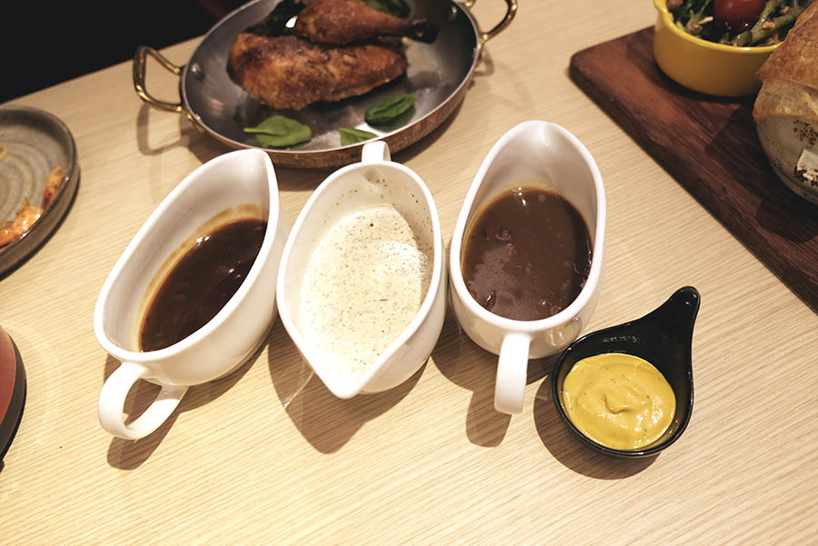 Sauces for the roast chicken
