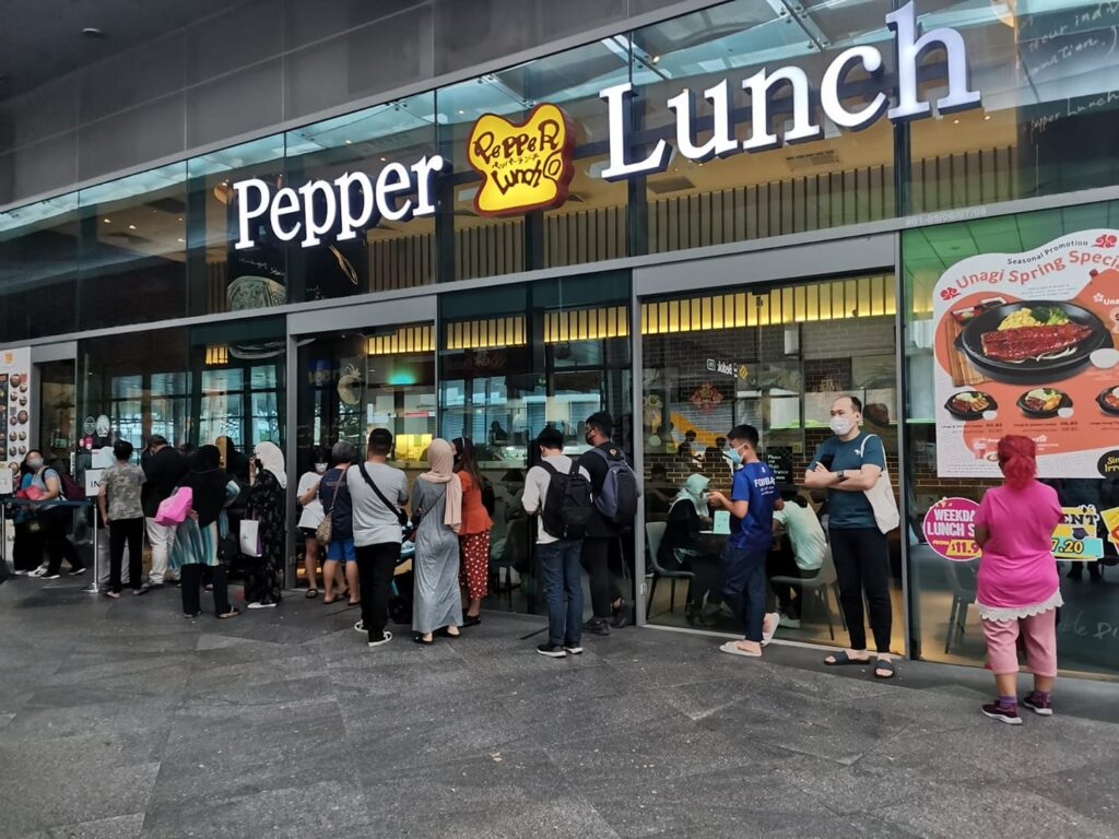 Pepper Lunch Bedok outlet