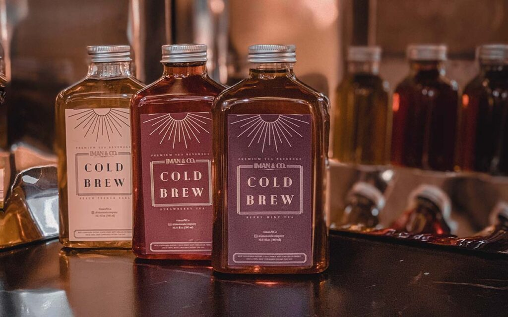 Gift cold brew tea by Iman & Co
