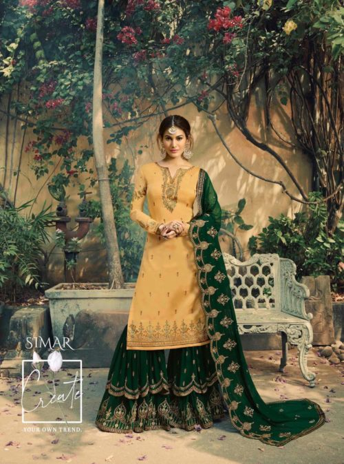 Glossy-Neisha-Satin-Georgette-Party-Wear-5040-5047-Series-Sharara-Style-Suit-6