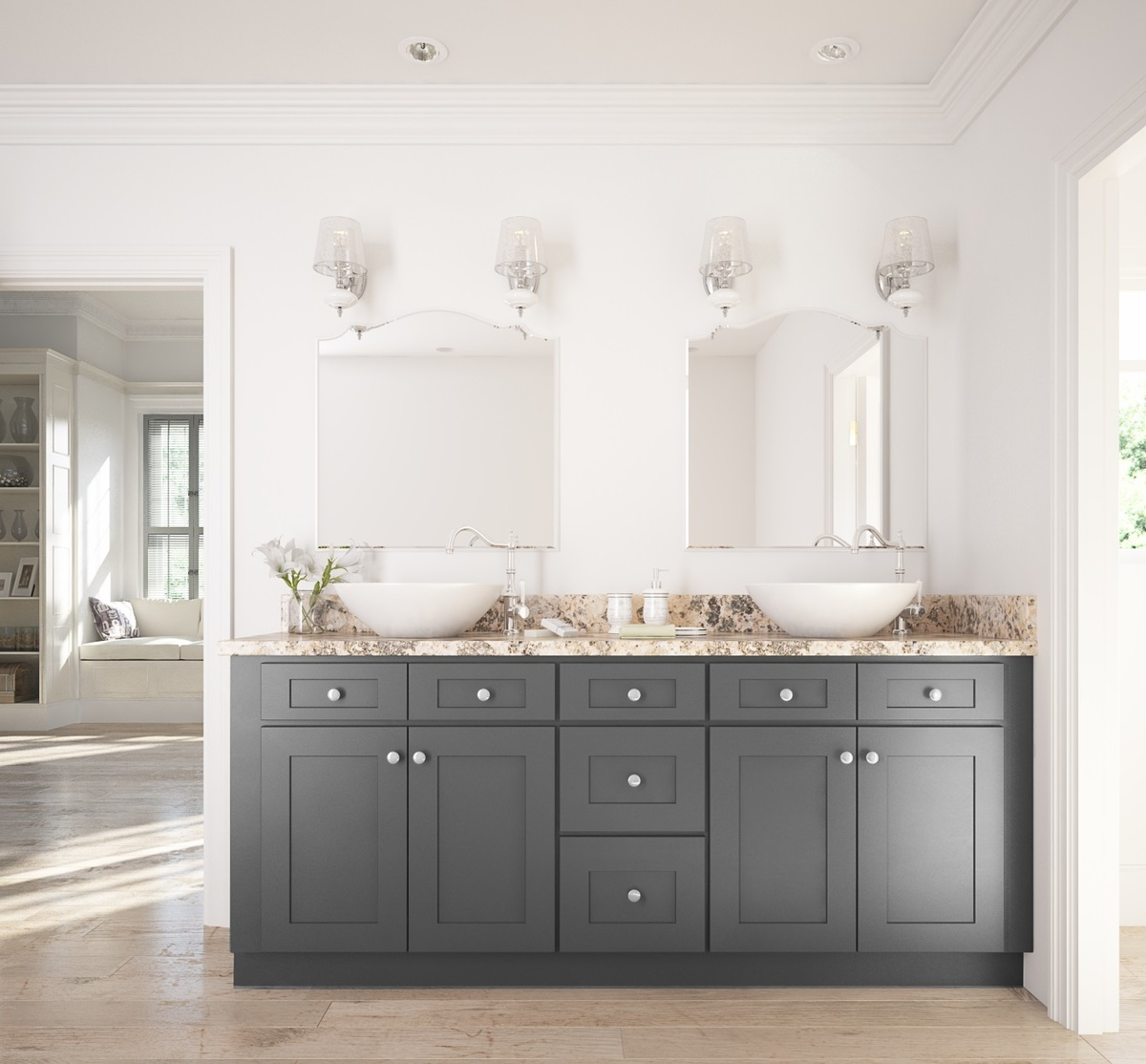 Best Grays For Bathroom Cabinets