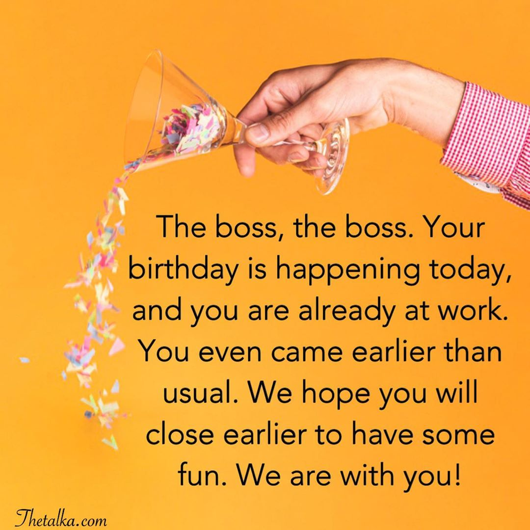 Birthday Wishes For Boss Heart Touching Impressive Funny
