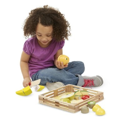 melissa and doug wooden cutting fruits