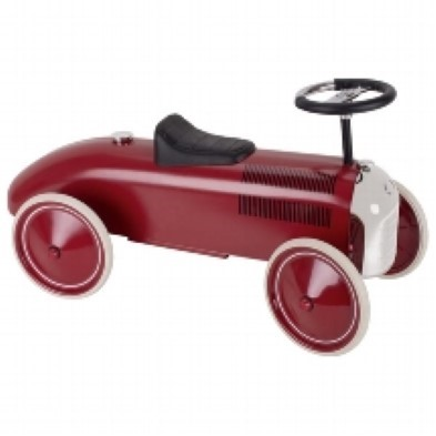 Deep Red Racer Ride On Car