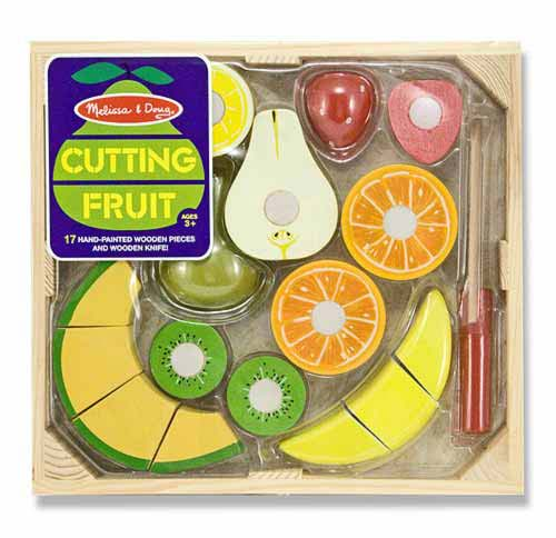 MD14021 Melissa and Doug Wooden Cutting Fruit 002